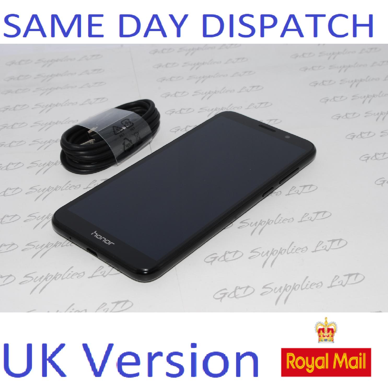 HUAWEI HONOR 7S DUA-L22 16GB 2GB RAM FACTORY UNLOCKED 4G LTE BLACK DUAL SIM UK version #