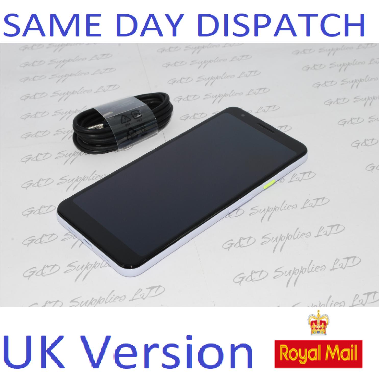 # Google Pixel 3a 5.56 Inch 64GB 4GB Android Mobile Unlocked Phone -  Purple-ish UK version NO BOX