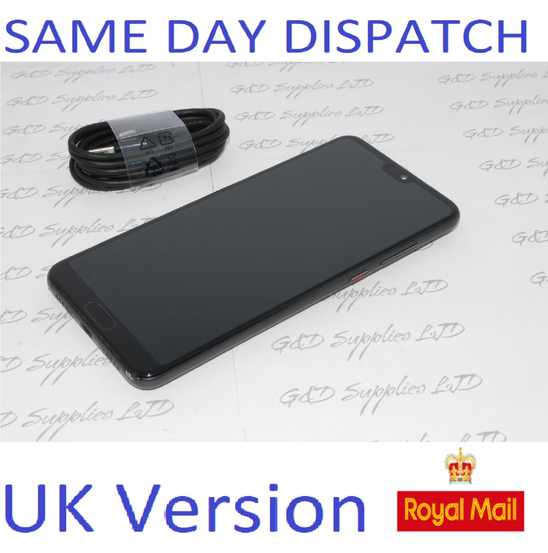 # Huawei P20 Pro (CLT-L09)  Black 128GB - 6GB RAM - Single Sim UK Stock NO BOX