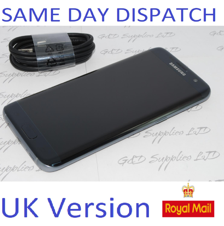 # Samsung Galaxy S7 32GB  Edge G935F Unlocked SIM Free Smartphone BLACK  UK NO BOX