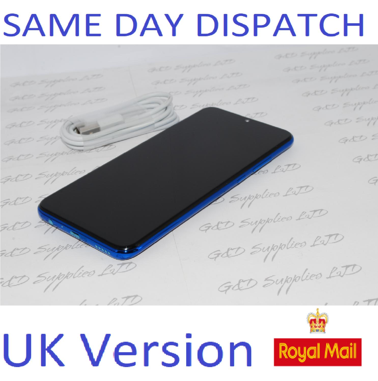 # Huawei Honor 20 Lite Blue 128GB Dual Sim 4G Android UNLOCKED NFC Sim UK version NO BOX