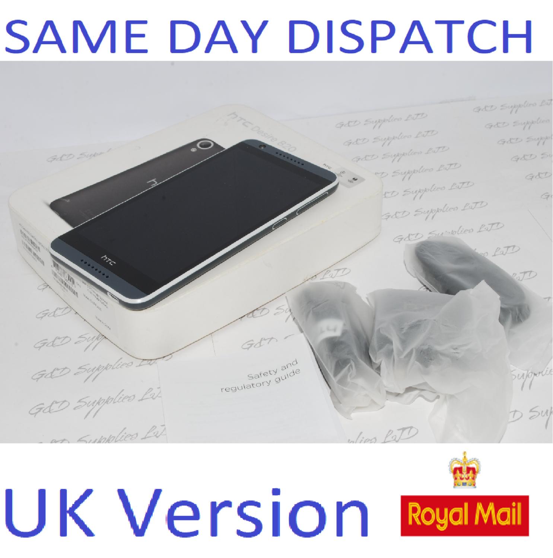 HTC Desire 820 16GB Dual Sim Unlocked Android 13MP 4G LTE Smartphone #