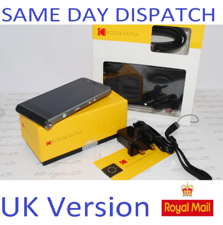 Kodak Ektra 32GB Black (Unlocked) Smartphone Android Phone UK version #