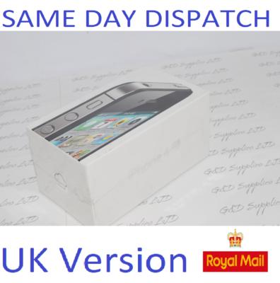 Apple iPhone 4S 16GB BLACK DEMO - Rare New Sealed UK STOCK