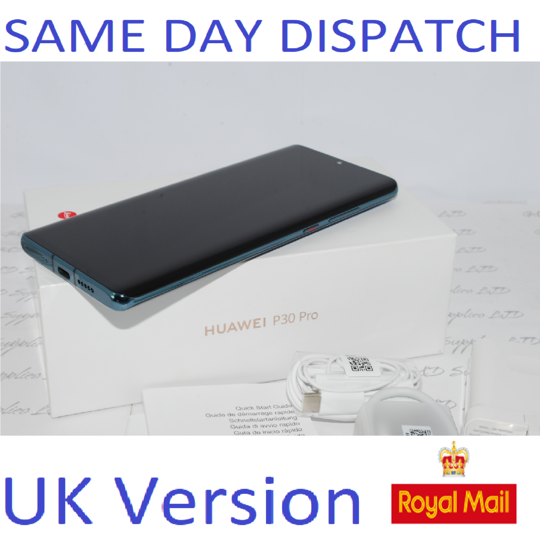 Huawei P30 PRO Single-SIM 128GB Mystic Blue Single 8GB Sim UNLOCKED UK Version #