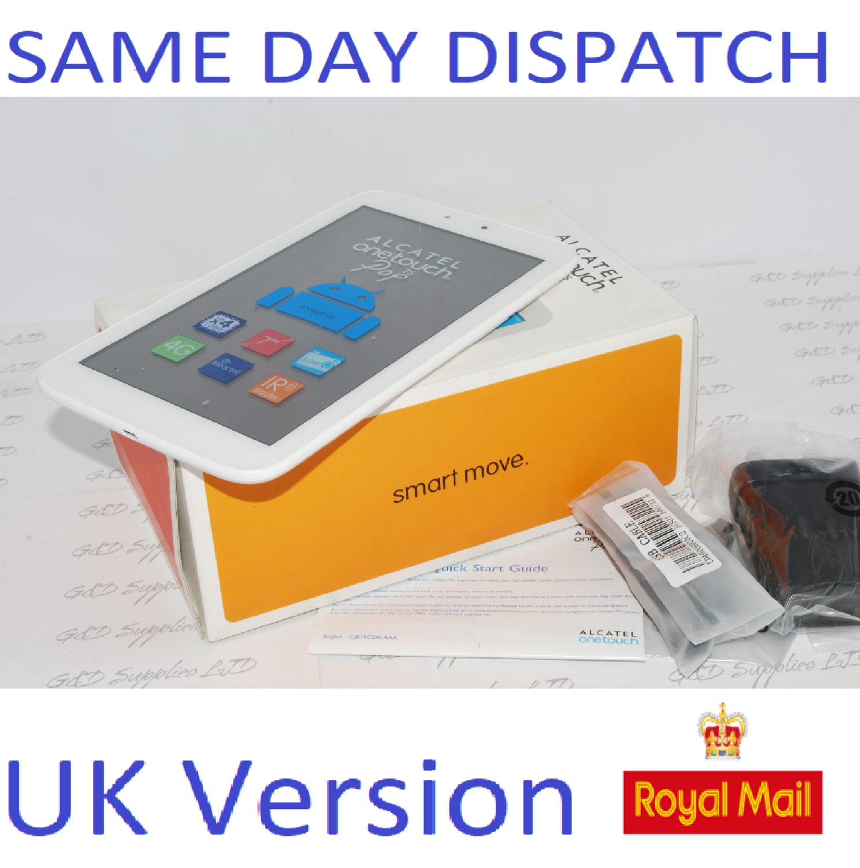 ALCATEL ONETOUCH Pop 7S 4GB, Wi-Fi + 4G Unlocked Tablet UK STOCK #