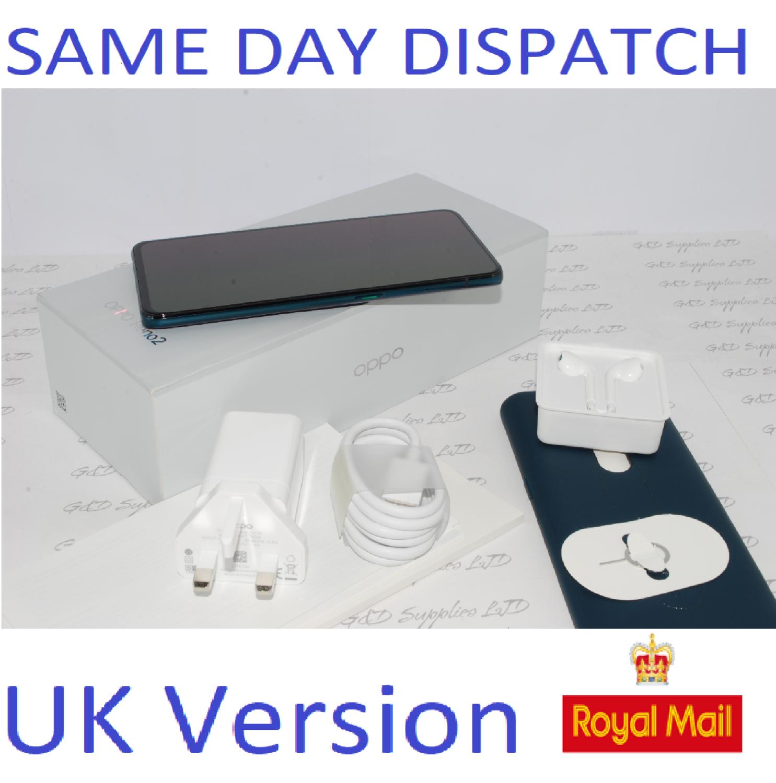 OPPO Reno 2 Dual-SIM CPH1907 8GB Ram 256GB Blue  Unlocked SIMFree UK version #