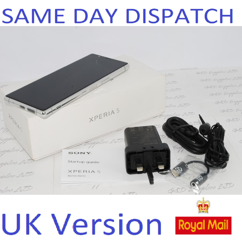 "SONY XPERIA 5 J8210 6.1"" FHD+HDR OLED UNLOCKED 128GB 6GB RAM GREY UK Stock #"