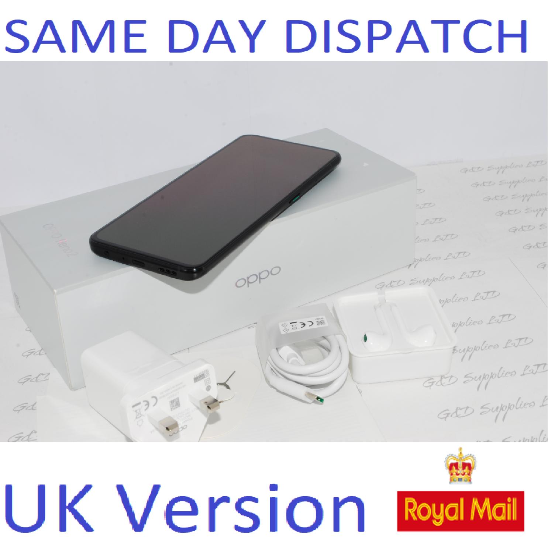 OPPO Reno 2 Dual-SIM CPH1907 8GB Ram 256GB Black Unlocked SIMFree UK version #