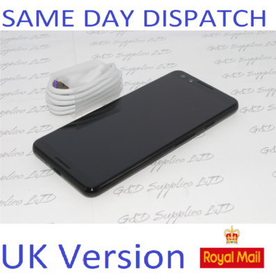Google Pixel 3 - 64GB - Black (Unlocked) Smartphone G013A  UK STOCK NO BOX .