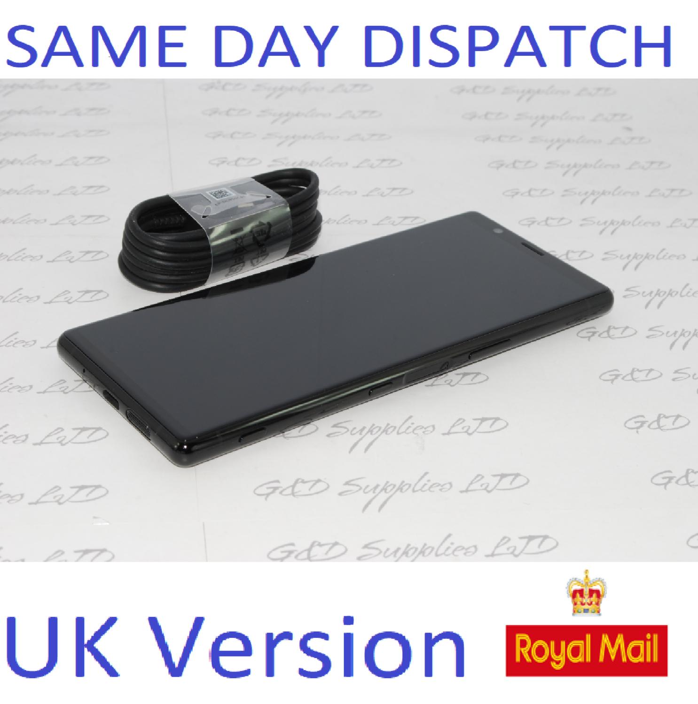 "SONY XPERIA 5 J8210 6.1"" FHD+HDR OLED UNLOCKED 128GB 6GB RAM Black UK Stock NO BOX"
