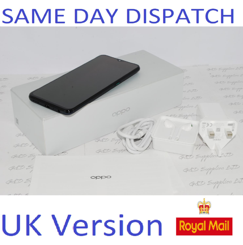 OPPO Reno  Z Dual-SIM CPH1979 4GB Ram 128GB BLACK  Unlocked SIMFree UK version #
