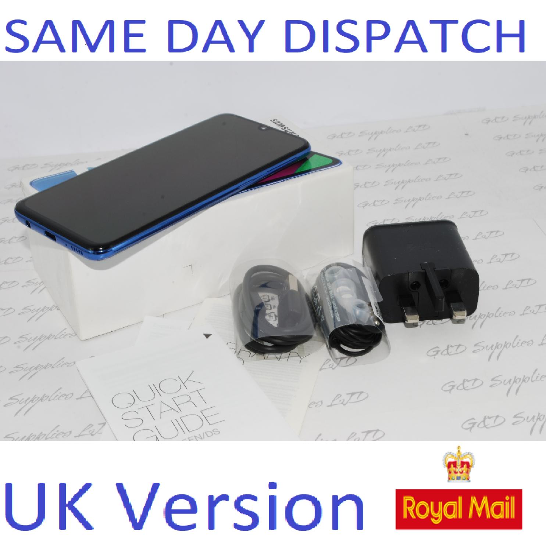 # SAMSUNG A40 SM-A405F 64GB 2019 4G LTE DUAL SIM BLUE NFC Unlocked  UK Version