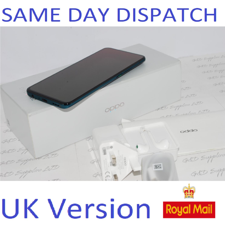 OPPO Reno 2 Dual-SIM CPH1907 8GB Ram 256GB Blue  Unlocked SIMFree UK version ##