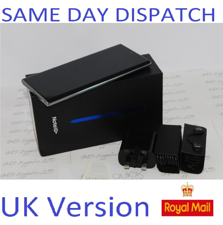 Samsung Galaxy Note 10 + plus 256GB Aura Glow N975F Dual Sim unlocked  UK Version #