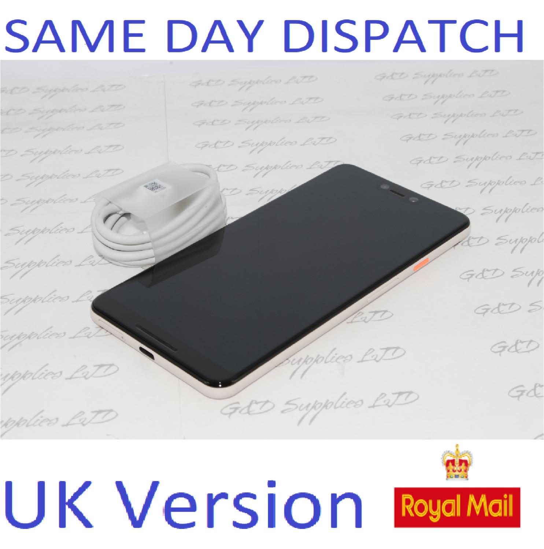 Google Pixel 3 XL 64GB - Pink (Unlocked) Smartphone UK STOCK NO BOX