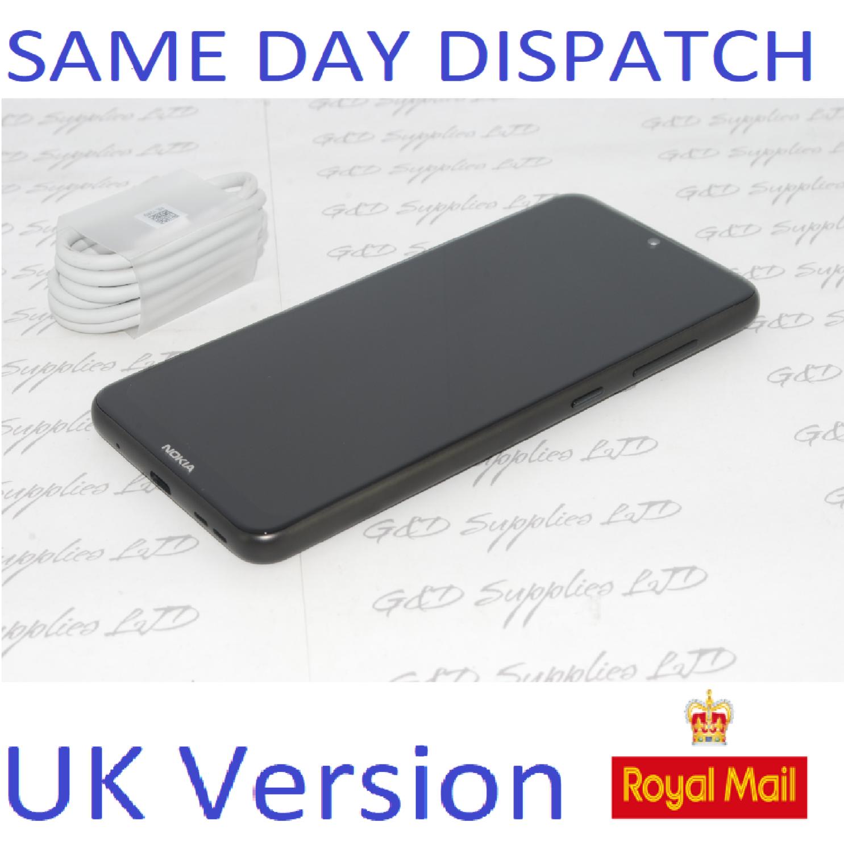 "Nokia 7.2 Charcoal 64GB 6.3"" LTE Dual Sim Android  Sim Free Unlocked NO BOX  UK stock"