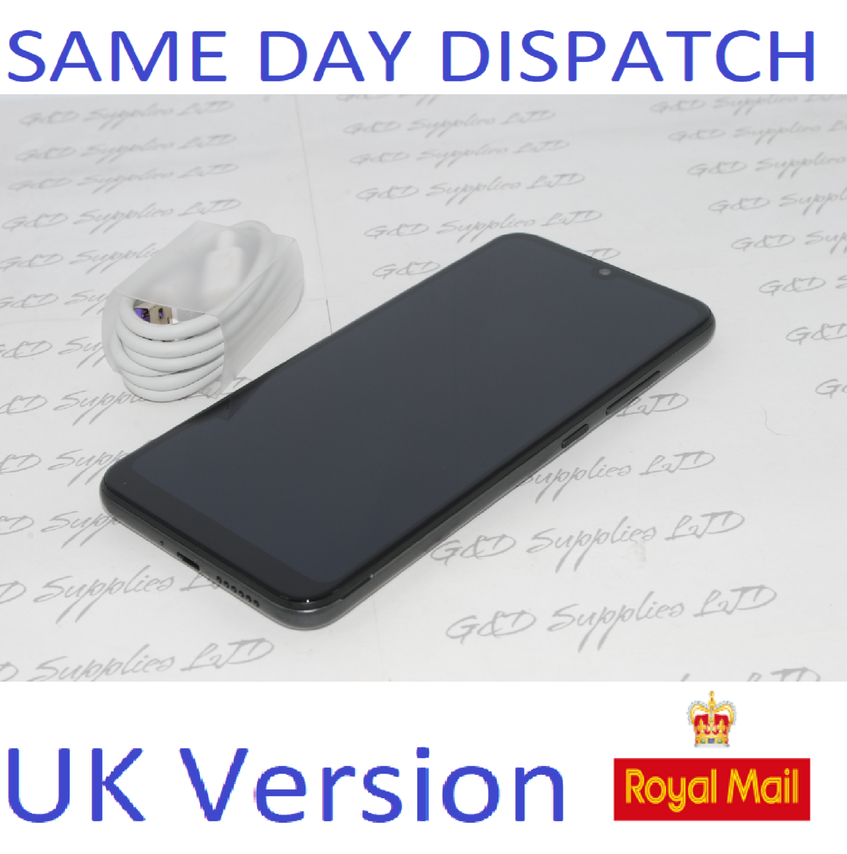 Motorola Moto E6 Plus XT2025-2 32gb Graphite  Unlocked Single Sim Smartphone UK stock NO BOX