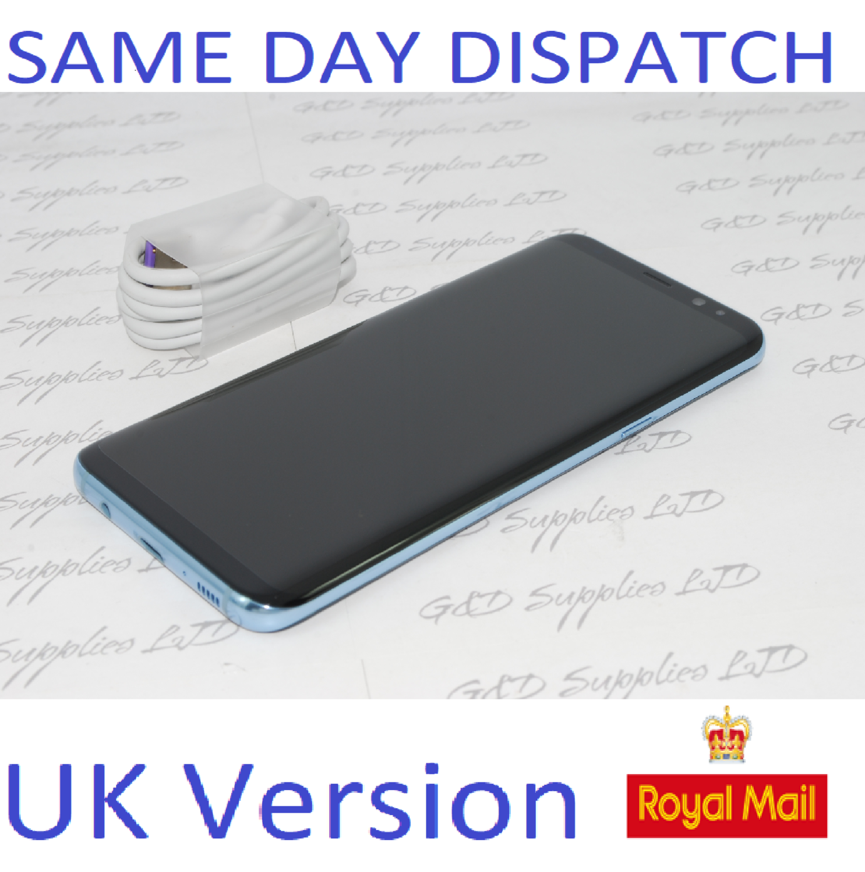 # Samsung Galaxy S8 Plus SM-G955F 64GB UNLOCKED Sim-Free Gray UK STOCK NO BOX
