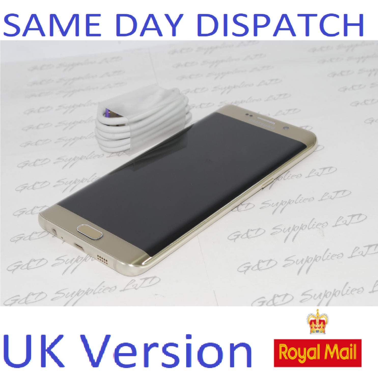 Samsung Galaxy S6 edge Plus  32GB SM-G928 UNLOCKED 4G-BLACK  UK Version  NO BOX