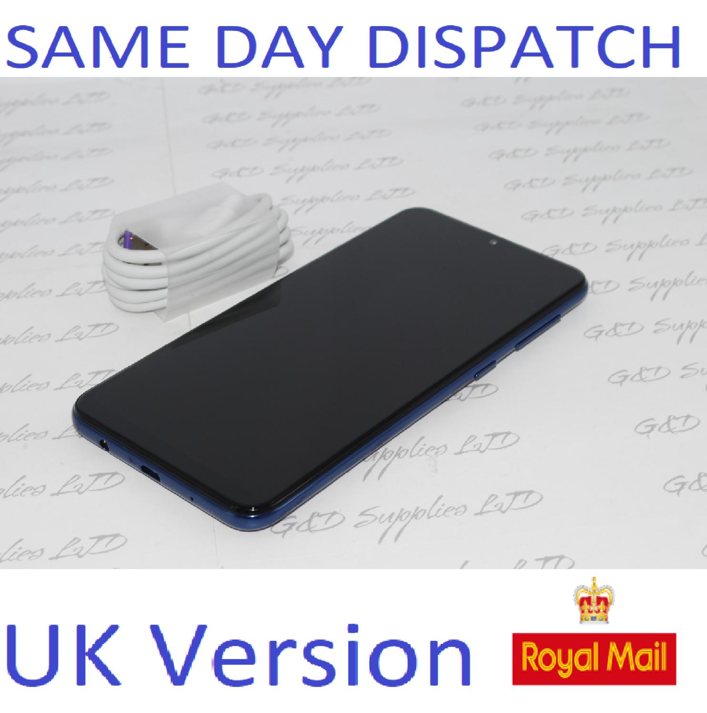 Samsung Galaxy A10 Dual Sim (2019) 32GB 4G LTE NFC Blue Unlocked UK Version NO BOX