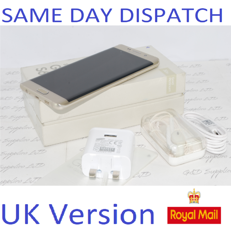 Samsung Galaxy S6 edge Plus  32GB SM-G928 UNLOCKED 4G-Gold UK Version  #