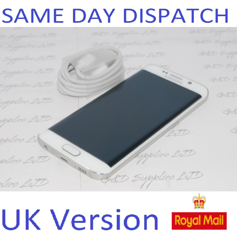 Samsung Galaxy S6 edge  32GB SM-G925F UNLOCKED 4G-White UK Version  NO BOX