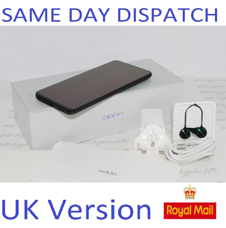 Oppo Reno 10x Zoom - 256GB 4G Black (Unlocked) Smartphone Dual Sim UK version #