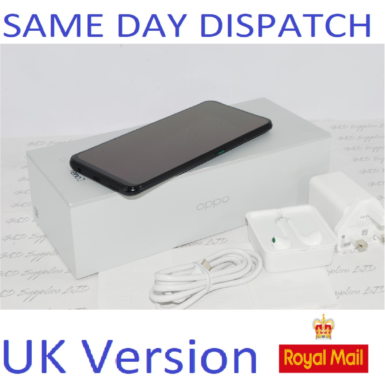 OPPO Reno 2 Z Dual-SIM CPH1951 128GB 8GB RAM Luminous Black Factory Unlocked SIMFree UK version ##
