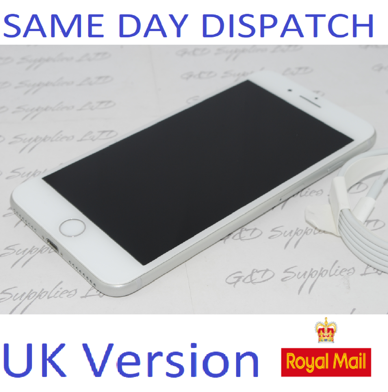 Apple iPhone 7 Plus - 32GB Unlocked SILVER SIM Free UK Version NEW Condition NO BOX