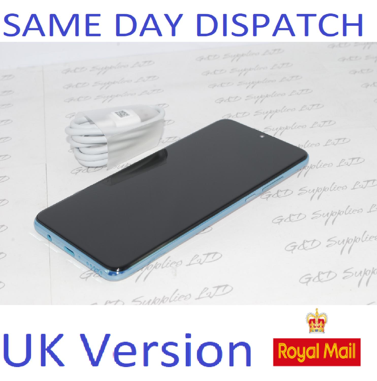 Huawei P30 Lite  4G Smartphone 4GB RAM 128GB Single Sim Crystal UNLOCKED UK Version NO BOX