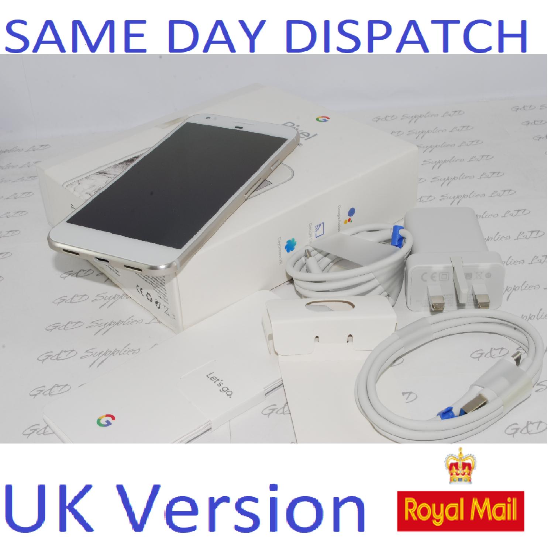 Google Pixel - 32GB XL white (Unlocked) Smartphone UK STOCK #