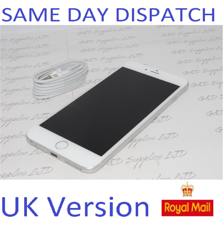 Apple iPhone 6 Plus - 64GB  Unlocked SILVER SIM Free UK Version NEW Condition NO BOX