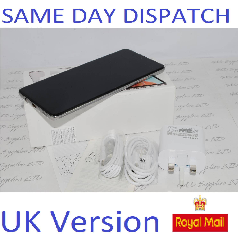 Samsung Galaxy A71 (SM-A715F/DS) - 128GB Prism Crush Silver Dual Sim UNLOCKED  UK Version #