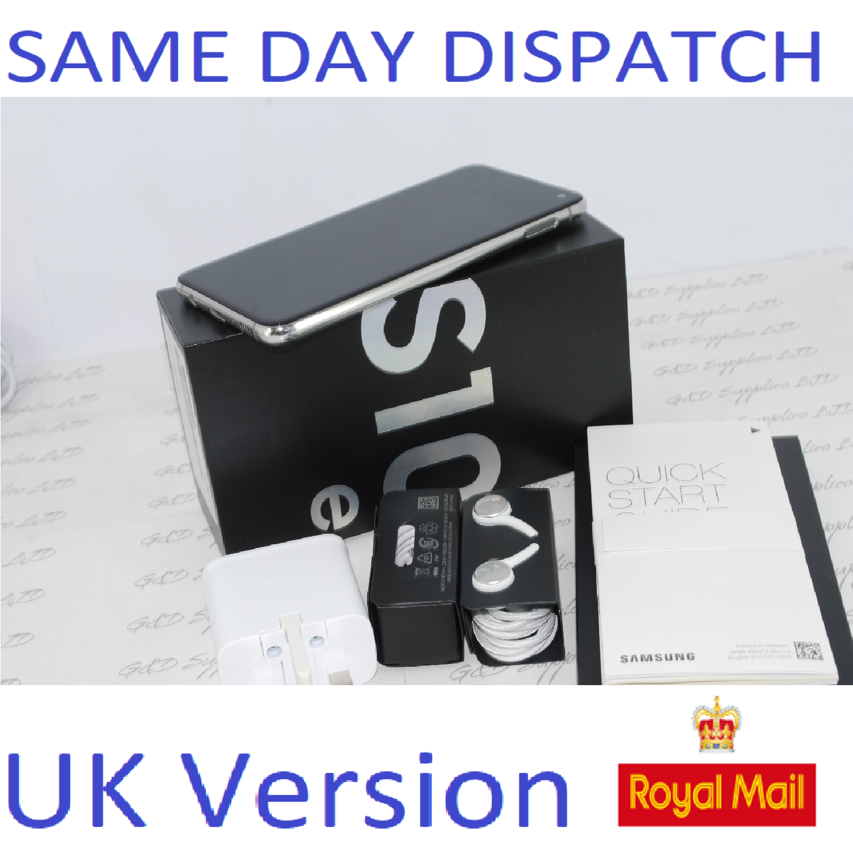 Samsung S10E SM-G970 128GB PRISM SILVER 128GB  4G Dual Sim UNLOCKED  UK Version #