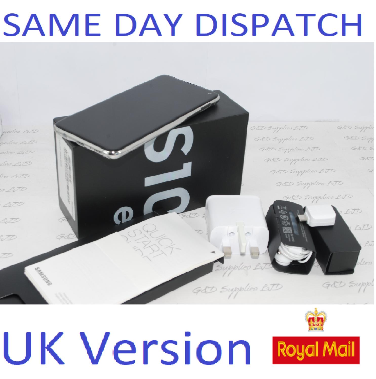 Samsung S10E SM-G970 128GB White 128GB  4G Dual Sim UNLOCKED  UK Version #