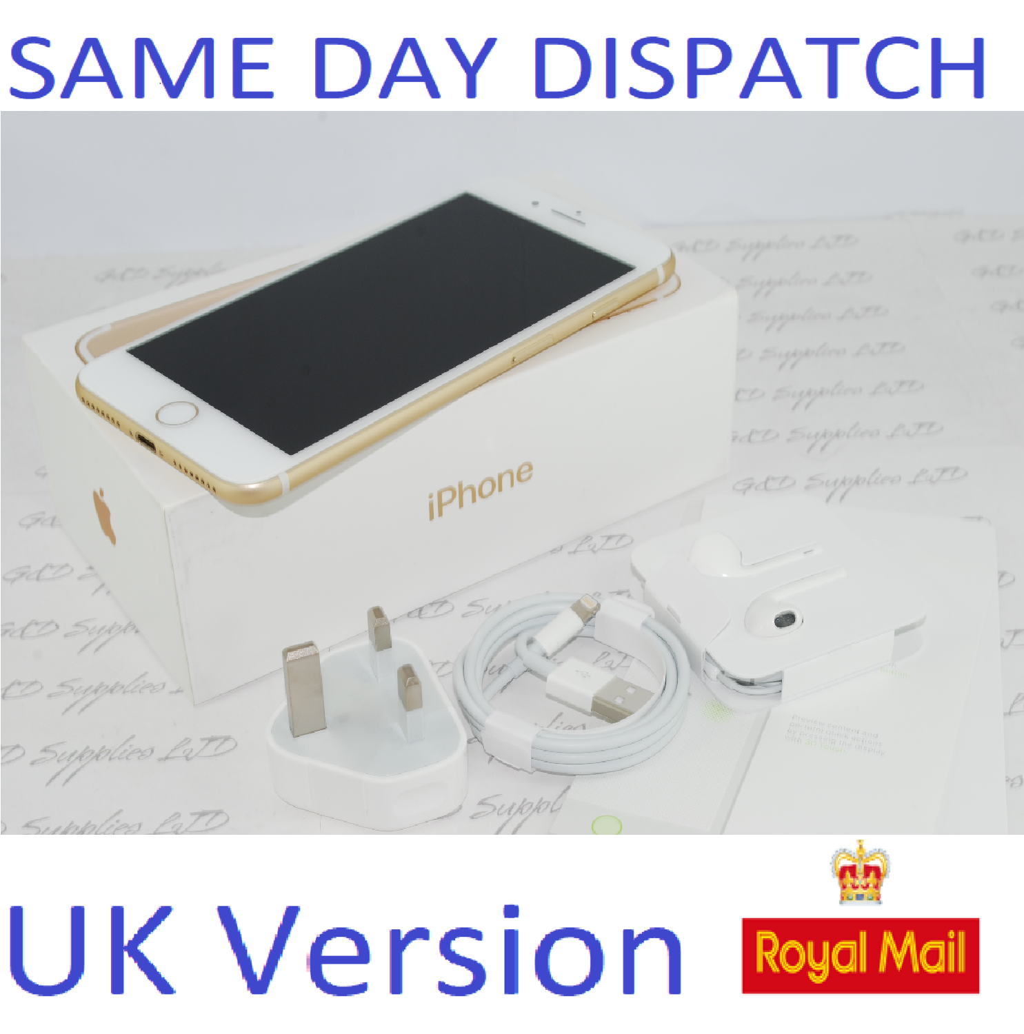 Apple iPhone 7 Plus - 32GB Unlocked Gold SIM Free UK Version NEW Condition #