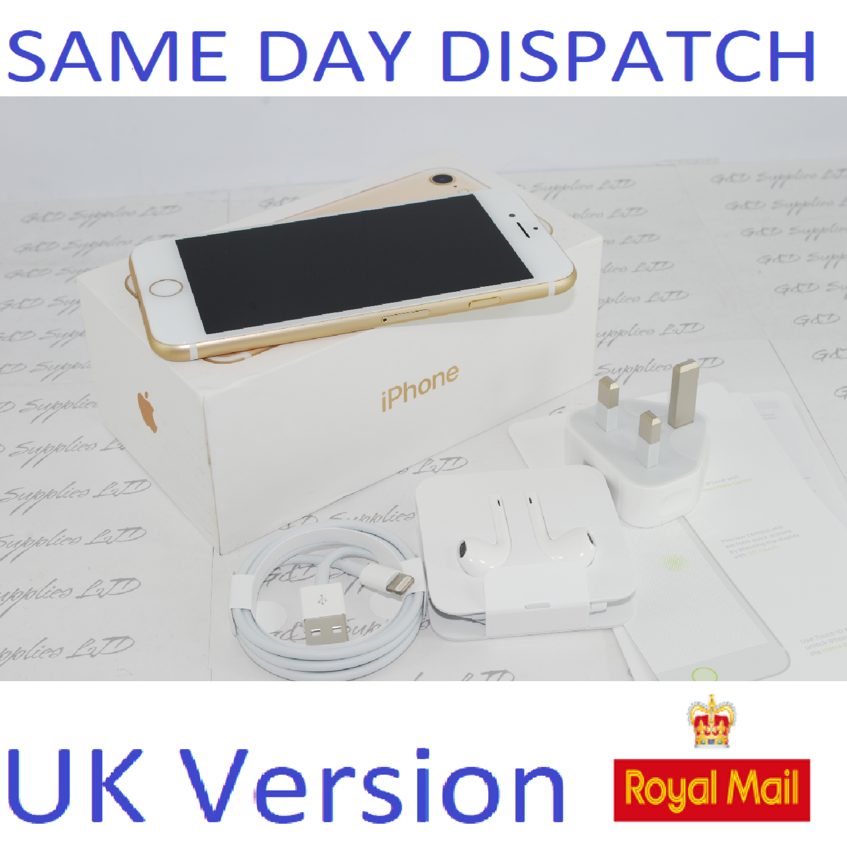 Apple iPhone 7 32GB  Unlocked Gold SIM Free UK Version NEW Condition #