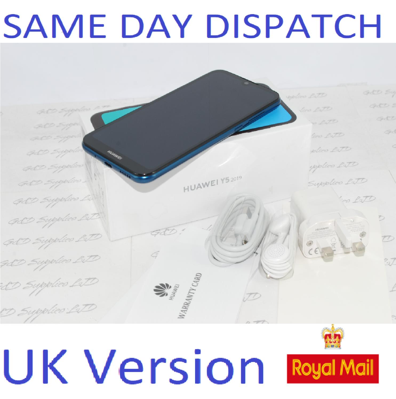 Huawei Y5 16GB Mobile Phone DUAL SIM 16GB unlocked Blue  UK version #