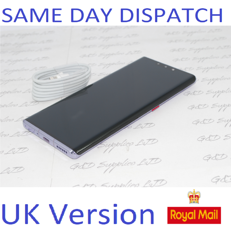 Huawei Mate 30 Pro 8GB 256GB  Space Silver  Dual Sim UNLOCKED UK Version NO BOX