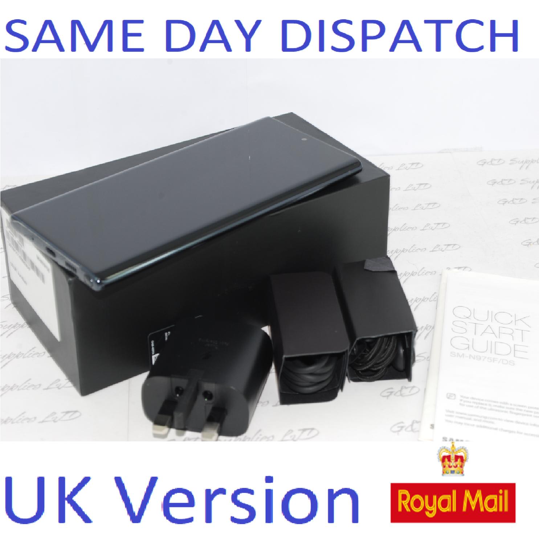 Samsung Galaxy Note 10 + plus 256GB Black N975F Dual Sim unlocked  UK Version #