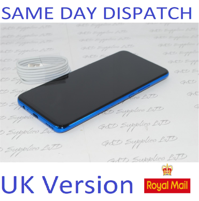 """Honor 9X Sapphire Blue 6.59"""" 128GB 4G Unlocked Dual-SIM 4G Unlocked Huawei  UK version NO BOX"""