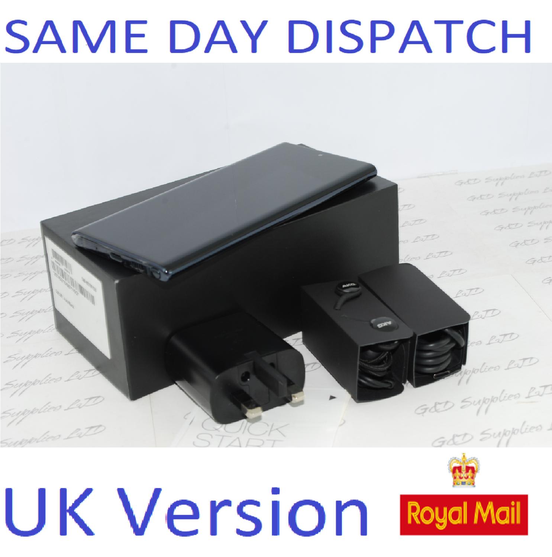 Samsung Galaxy Note 10 256GB Black  N9700 Single Sim unlocked  UK Version #