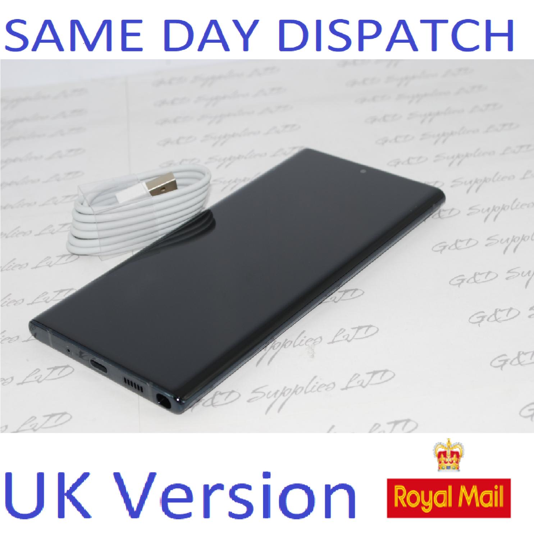 Samsung Galaxy Note 10 + plus 256GB Black N975F Dual Sim unlocked  NO BOX
