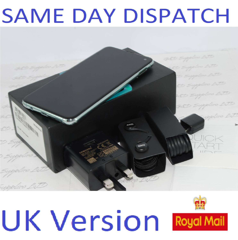 Samsung S10E SM-G970 128GB PRISM Green 128GB  4G Dual Sim UNLOCKED  UK Version #