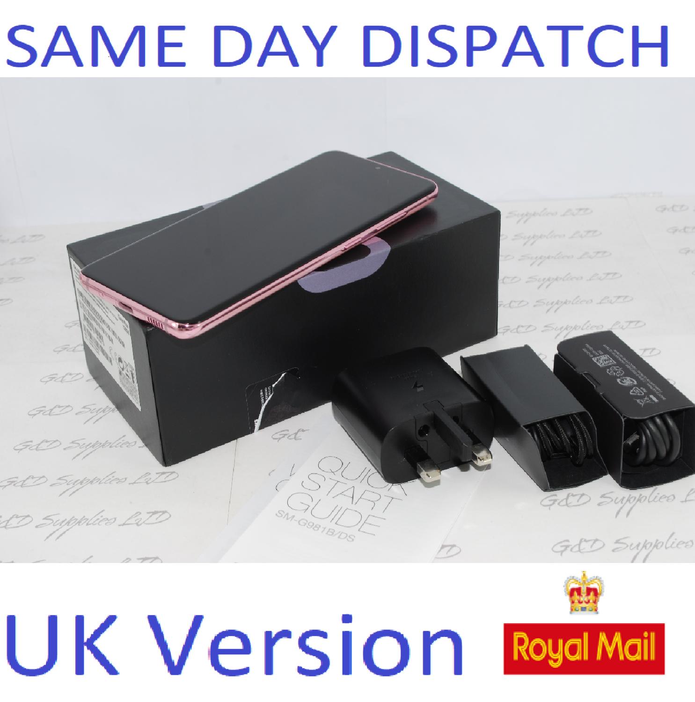 Samsung Galaxy S20 SM-G980B/DS  128GB 8GB  Cloud Pink Dual Sim unlocked  UK Version #