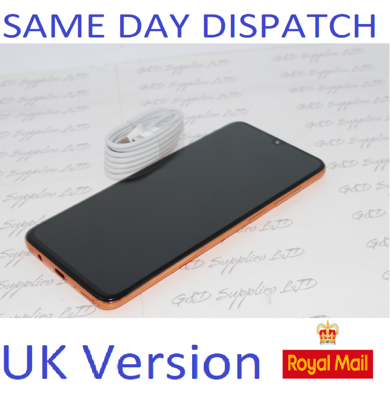 SAMSUNG GALAXY A70 SM-A705F 128GB 2019 4G coral NFC Dual Sim UNLOCKED  UK Version NO BOX #
