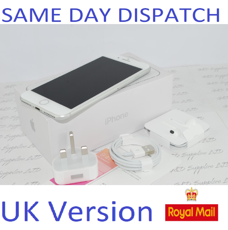 Apple MQ8N2B/A iPhone 8 Plus 4G 64GB Silver  UK Version NEW Unlocked SIM Free #