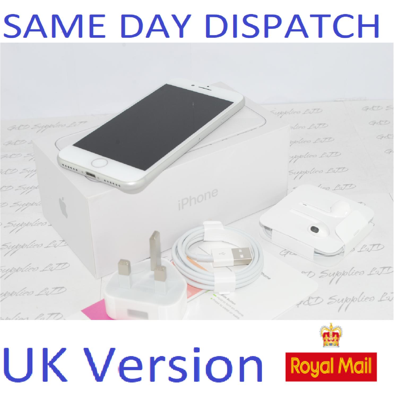 Apple MQ6G2BA iPhone 8 4G 64GB Silver UK Version NEW Unlocked SIM Free #