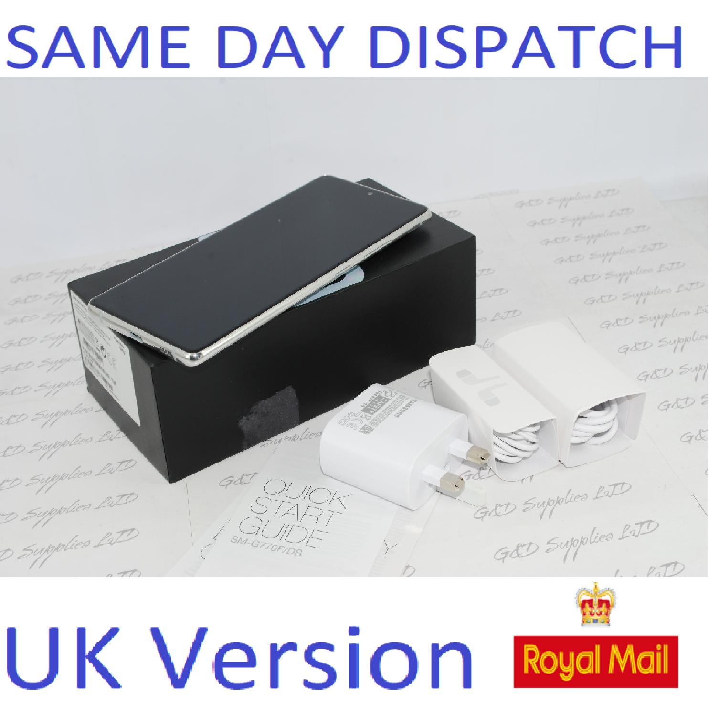 Samsung S10 Lite SM-G770F/DS 128GB 8GB Ram  white Dual Sim UNLOCKED  UK Version #